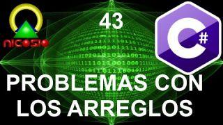 Tutorial C# 43 - Problemas con arreglos