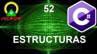 Tutorial C# 52 - Estructuras - Curso completo en español